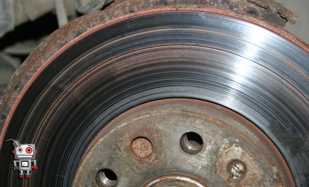10 состояние тормозных дисков