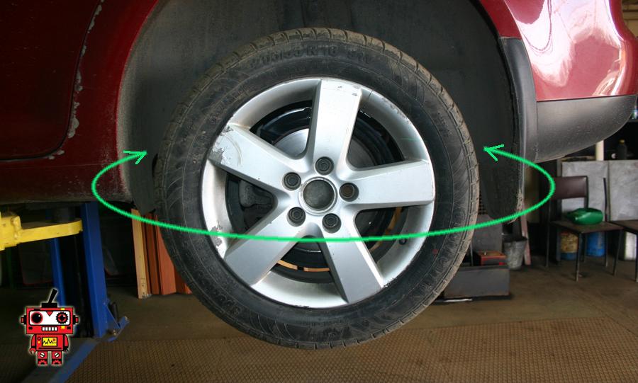 люфт колеса
